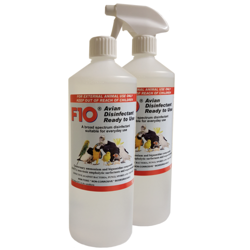 F10 Disinfectant Ready-to-Use with Spray Top
