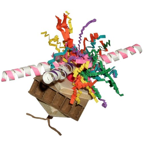 Jaffa's Party Straws-Shredding Foot Toy for Medium to Large Parrots