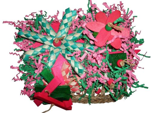 Shredding mats for parrots-The Allotment
