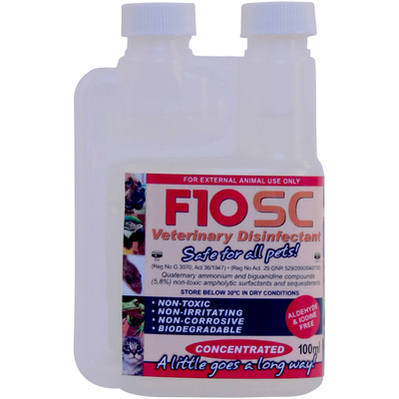 F10SC Super Concentrate Disinfectant 100ml