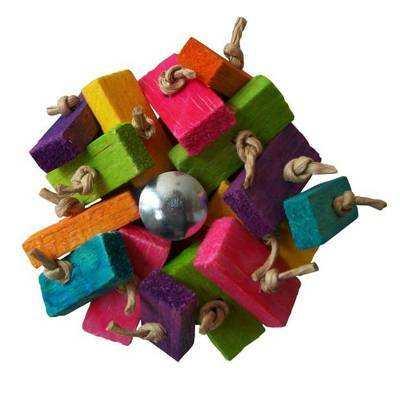 Kaleidoscope Parrot Toy for Mini to Small Birds