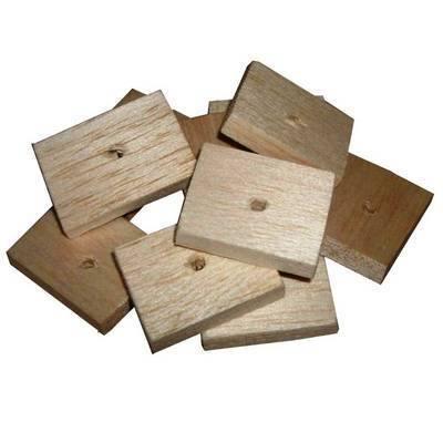 Balsa Slats Natural Soft wood for Small birds, 24pk