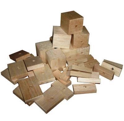 Balsa Natural Mix Soft wood for Small birds, 36pk