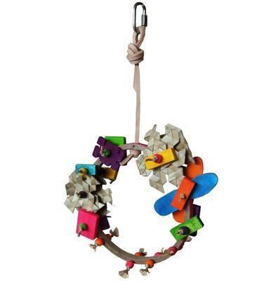 Budgie Swing Toy, Daisy Boo