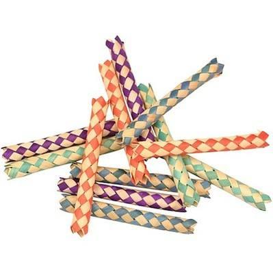 Foot Toy Woven Palm Sticks, 12pk