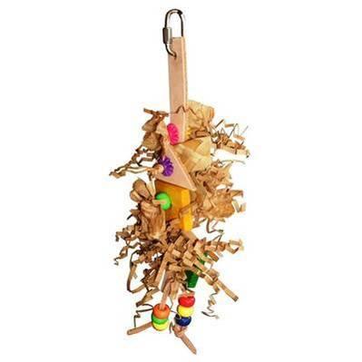 Shredding Parrot Toy Nyx for Mini to Small Birds