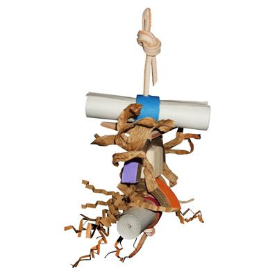 Shredding Toy Monty for Mini to Medium Birds