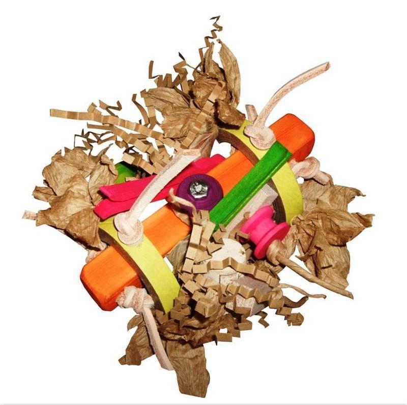shredding toy for parrots Peg It