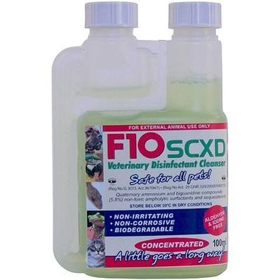 F10XD Super Concentrate Disinfectant/Cleanser 100ml