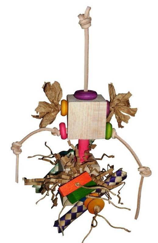 Balsa Parrot Toys UK  Bazinga shredding fun
