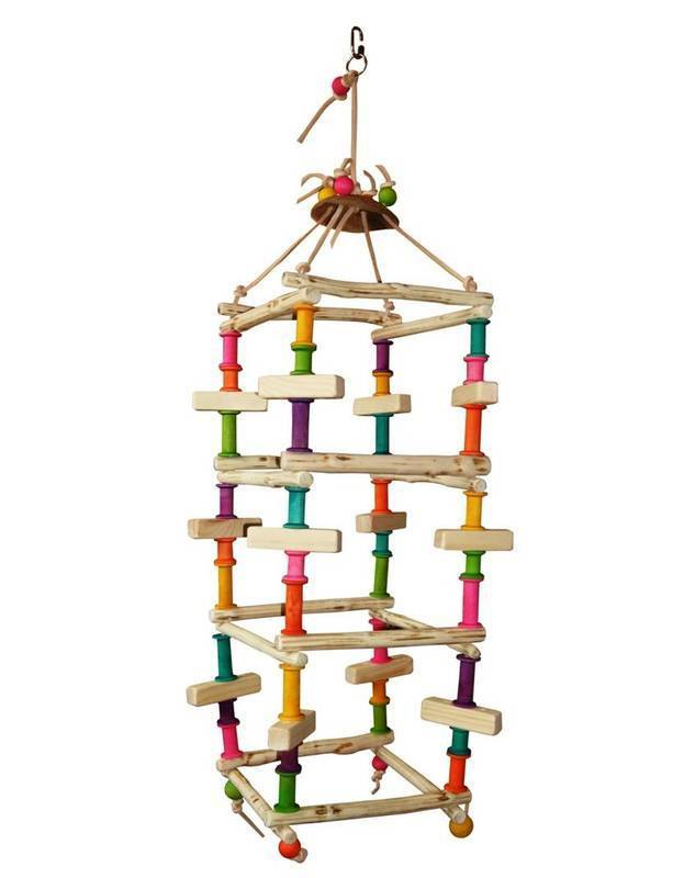Budgie Swing The Tower for Mini to Medium Birds