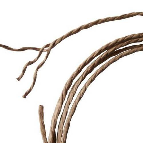 100% Natural Food Grade Paper Rope 3ply, 3 strand Per Meter