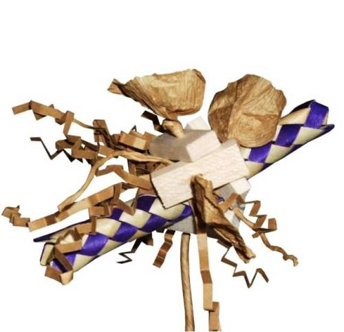 Mini Shredding Toy Palm Twist  -Mini to Small Birds
