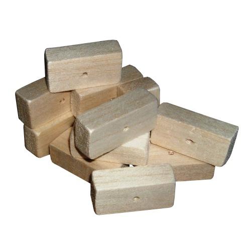 Balsa Blocks Natural Soft wood for Small birds, 12pk