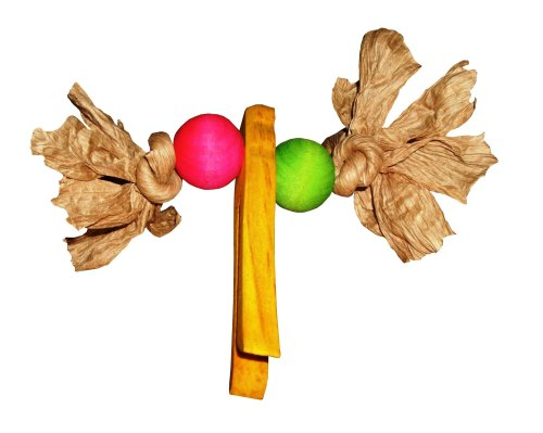 Peg It, Colourful Foot Toy for Medium to Large Parrots