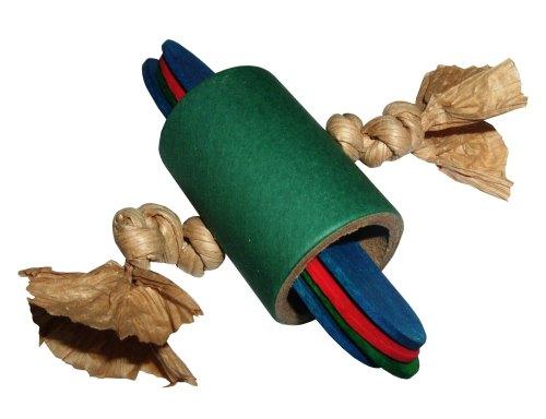 Rollersticks, Shredding Foot Toy for Medium to Large Parrots