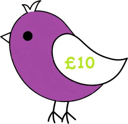 £10 Gift Voucher for all Things Birdie