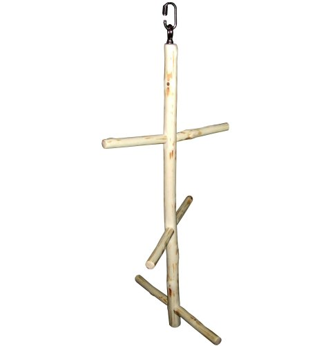 6 Perch Small Swing Tree with replaceable perches for Mini to Small Birds