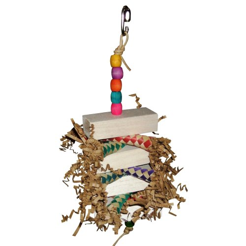 Uno Duo Balsa Toy for beaks that love to shred