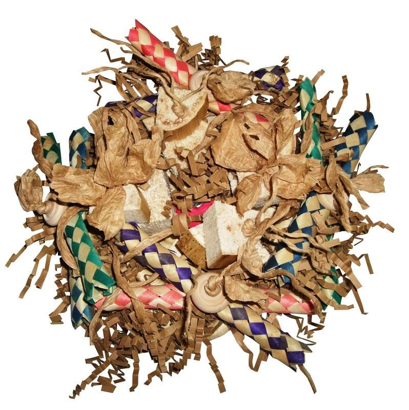 Cage Mounted Shredding Toy-Overloaded Maze