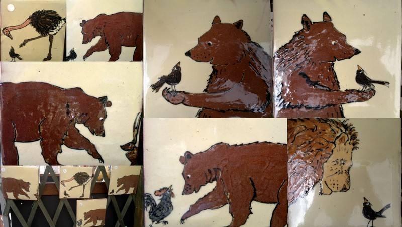 bear tiles
