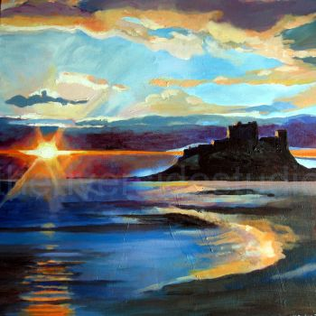 Northumbria Castle Sunrise