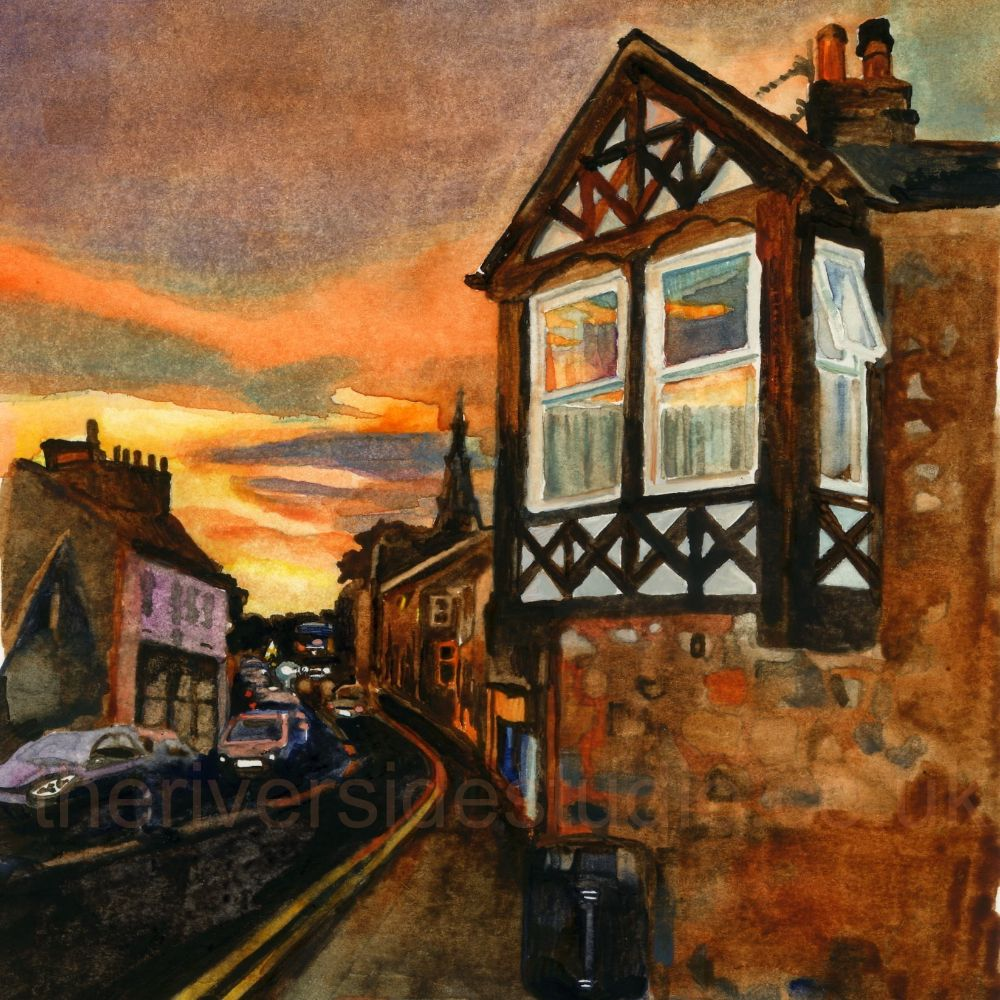 Alnmouth Village Medium Prints