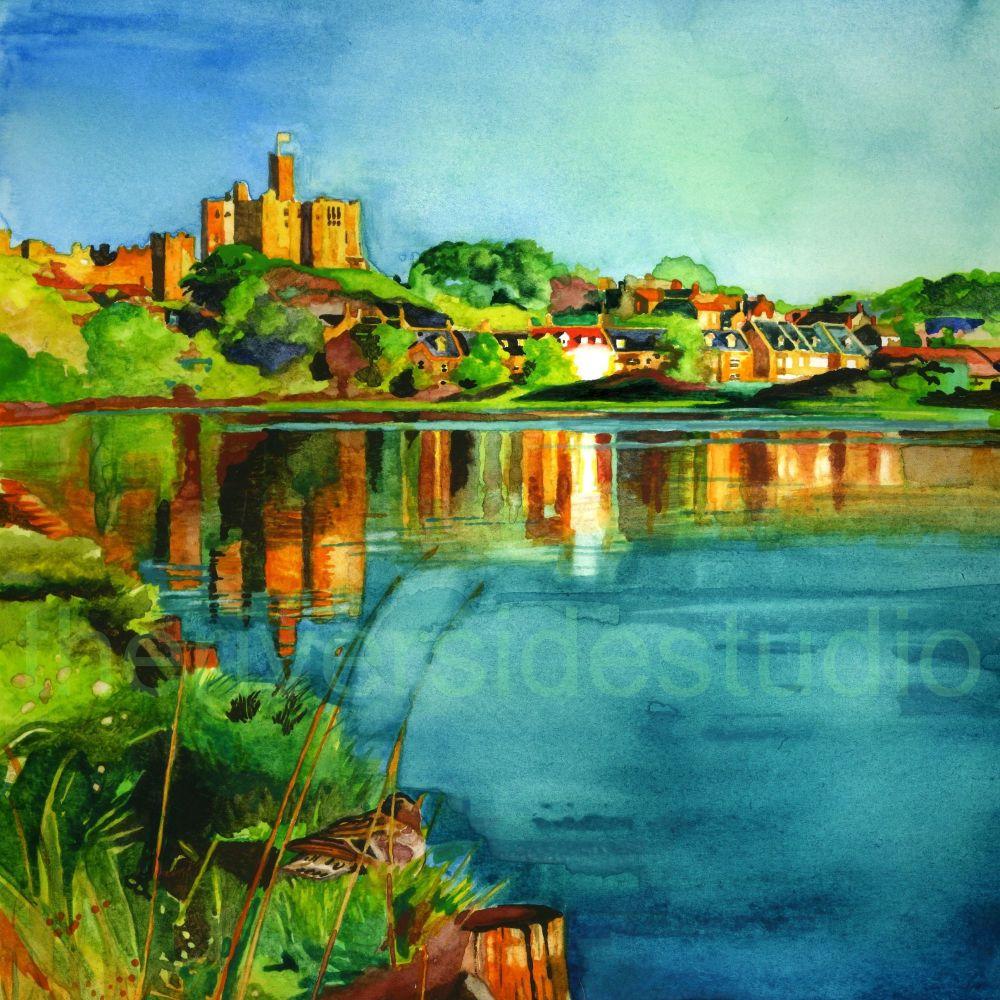 Warkworth Castle Sunrise