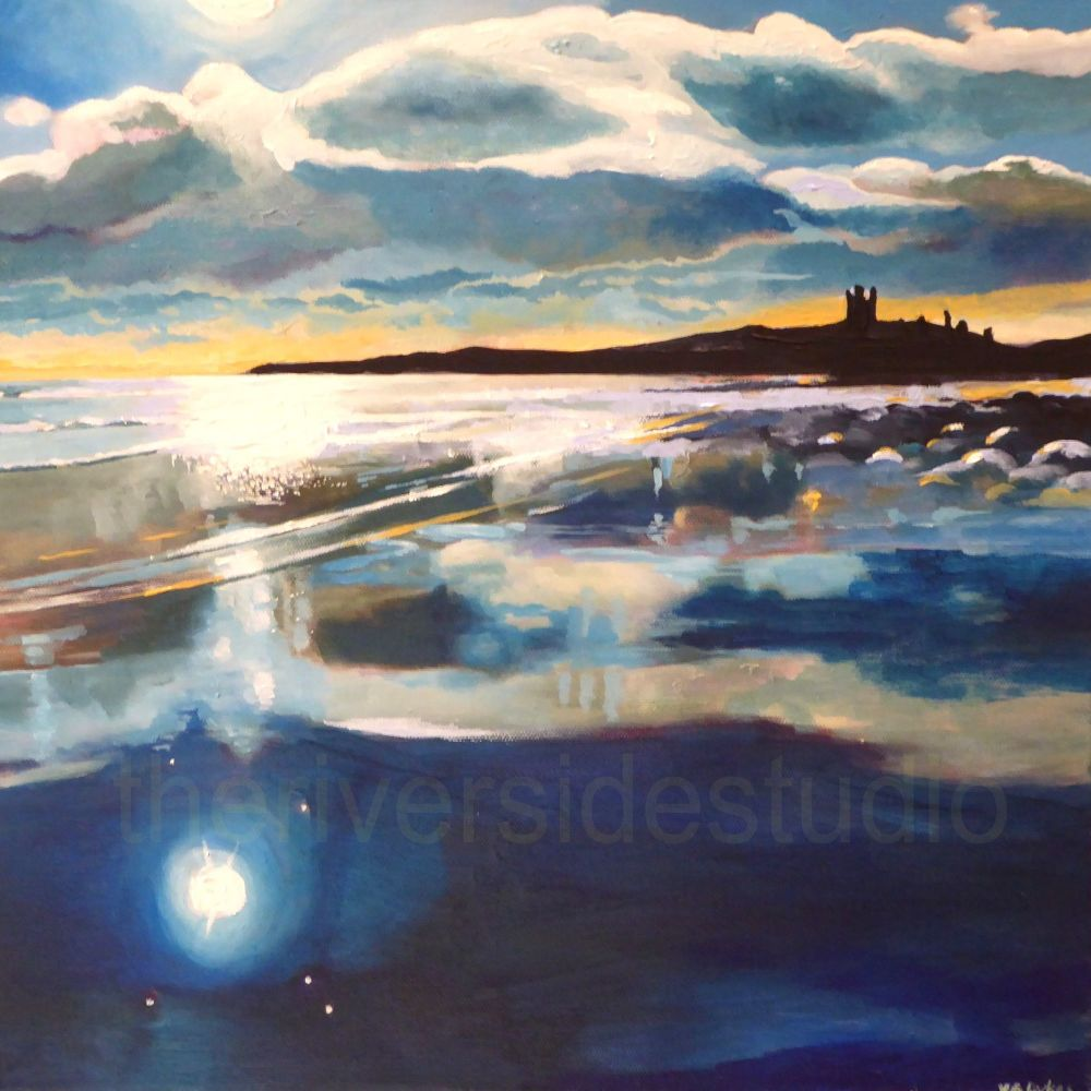 Dunstanburgh Reflections
