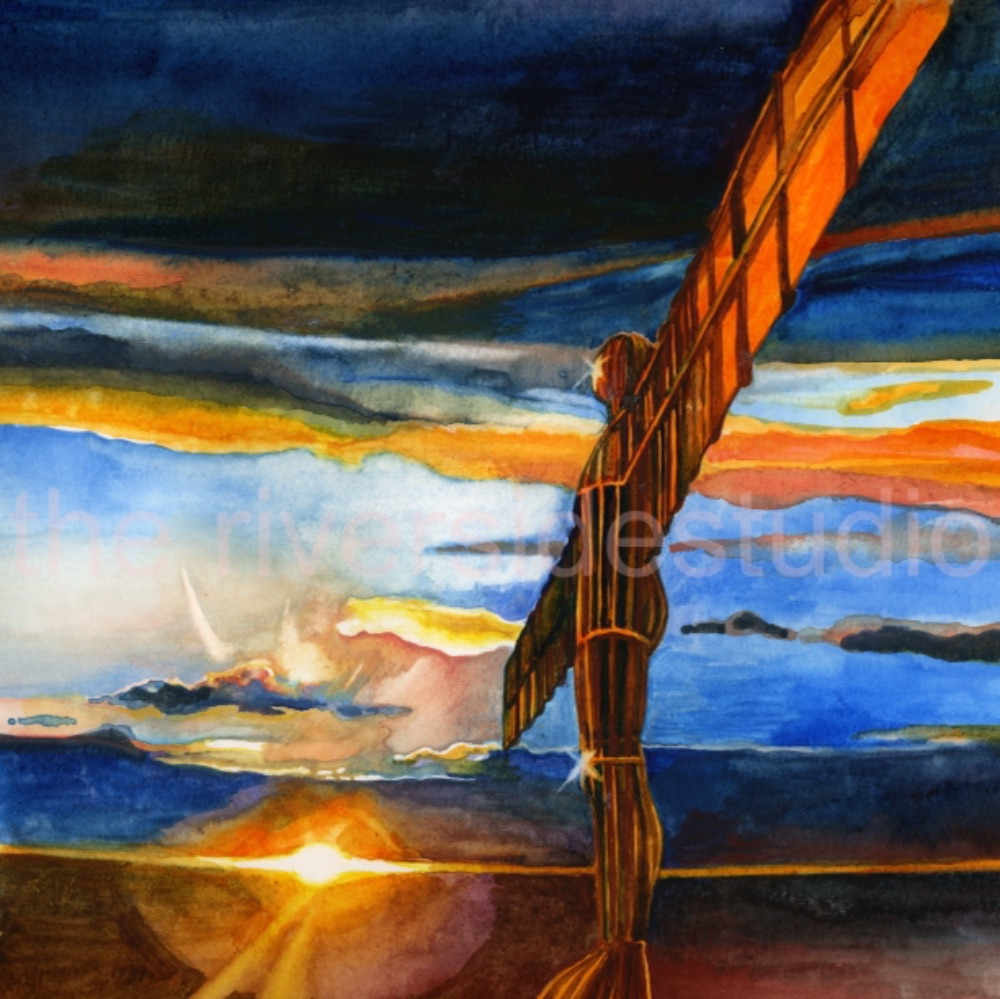 Angel of the North Prints
