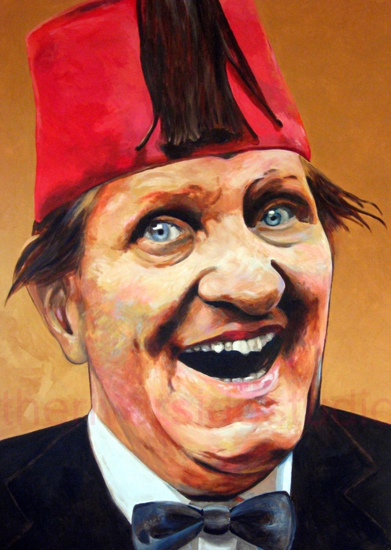 Tommy Cooper Portrait Format