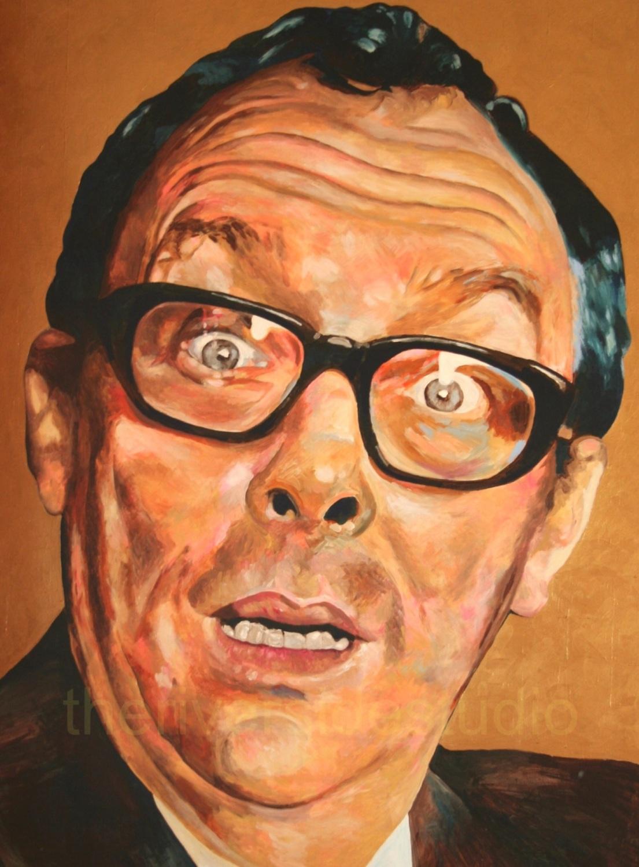 Eric Morecambe Portrait Format