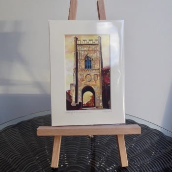 Pottergate Tower Mini Print