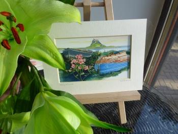 Holy Island Mini Print