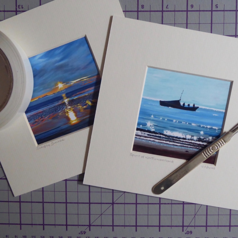 Alnmouth Mini Prints