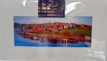 Alnmouth Village Reflections Limited Edition