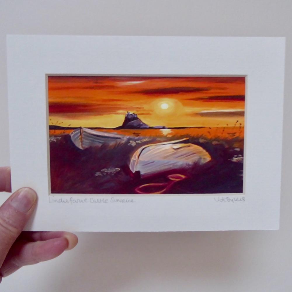 Lindisfarne Castle Sunrise