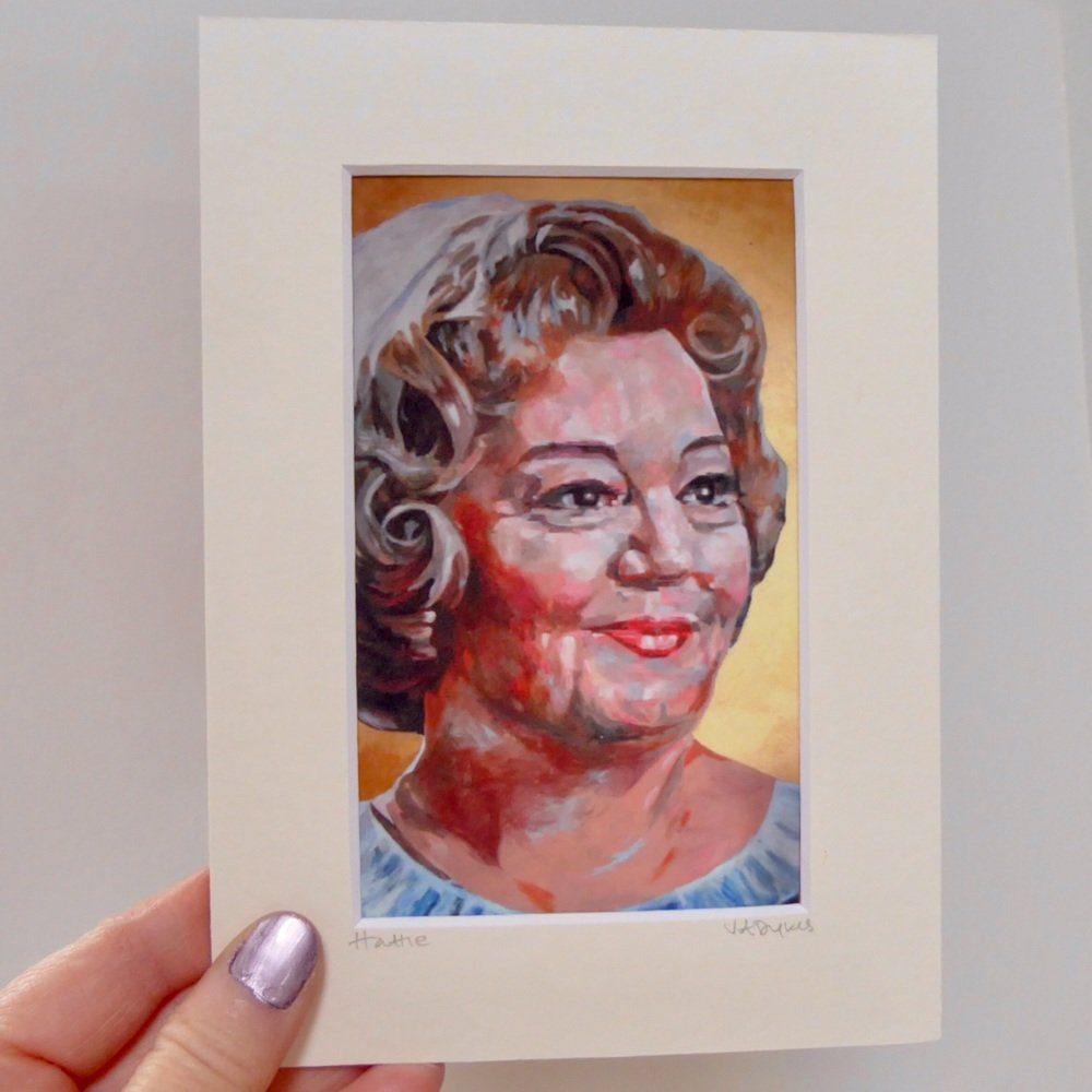 Hattie Jacques Mini Print