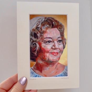 Hattie Jacques Mini Print