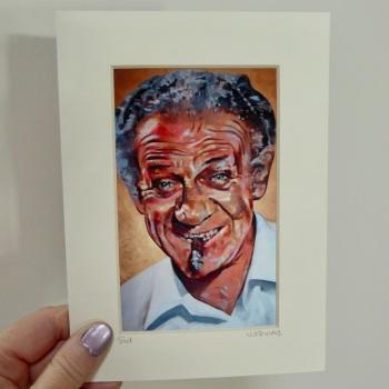 Sid James Mini Print