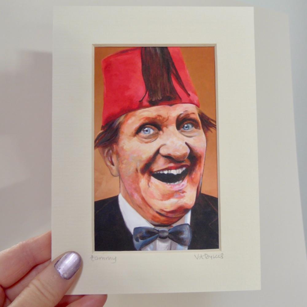 Tommy Cooper Mini Print