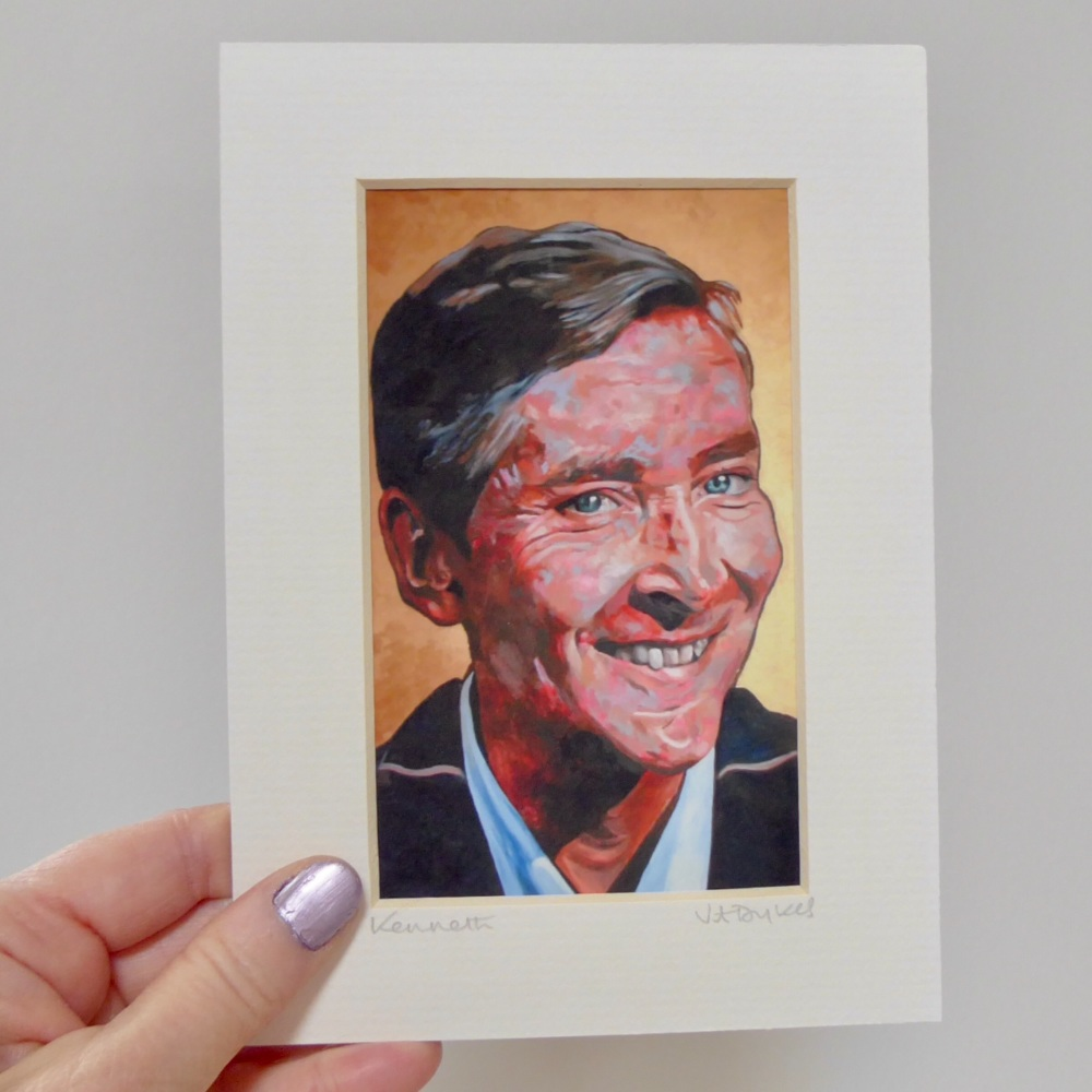 Kenneth Williams Mini Print