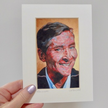 Kenneth Williams Mini Print