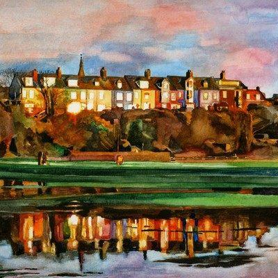 Lovaine Terrace Sunset
