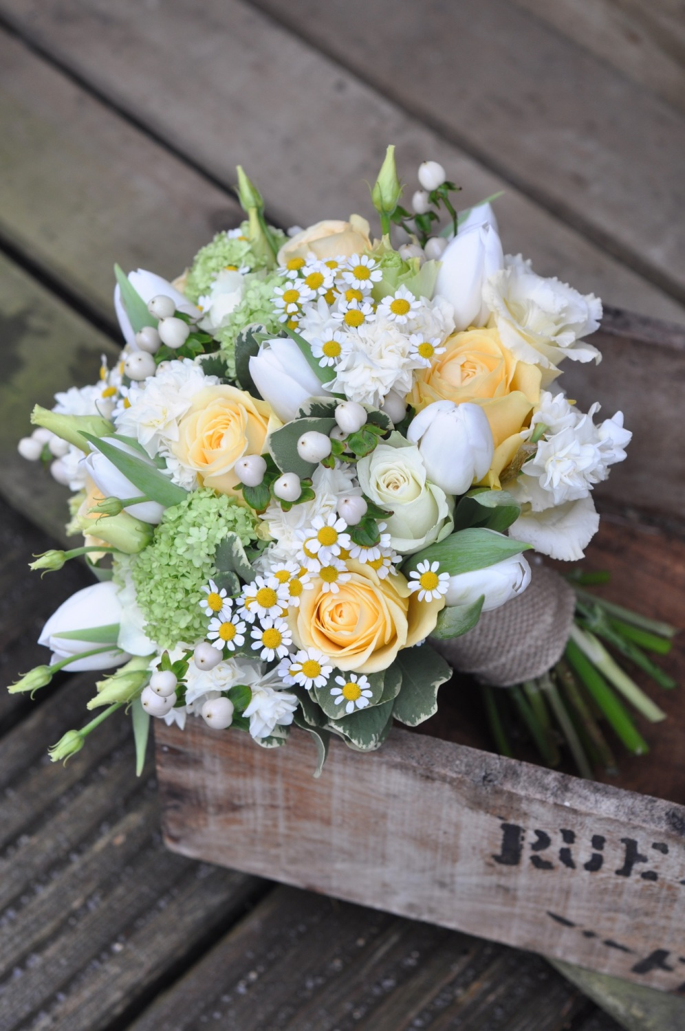 Spring Bridal bouquet 01