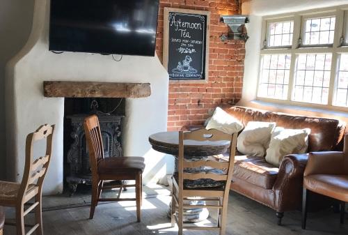 The Broadleys fireplace