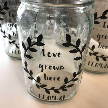 Labelled jar