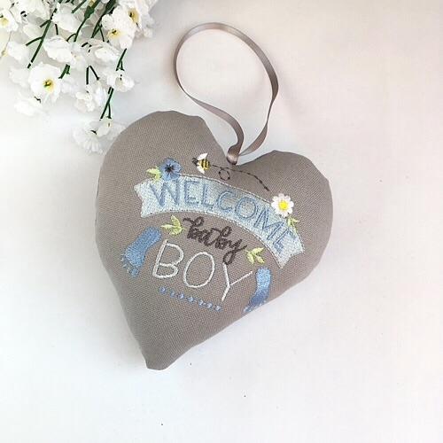 Baby Boy Heart