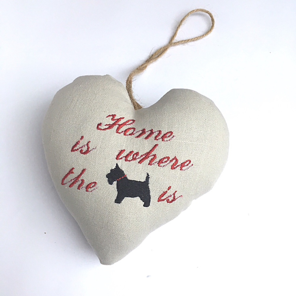 Dog Lovers  Heart Decoration