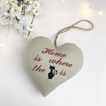 Cat Lovers Heart Decoration